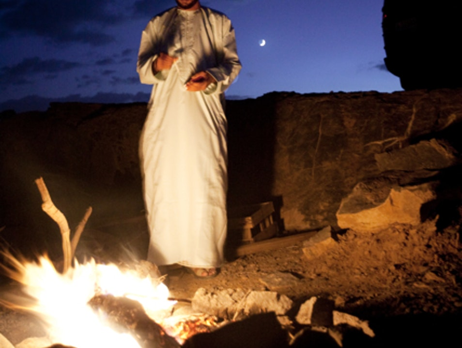 A nighttime visit Jabal Shams  Oman
