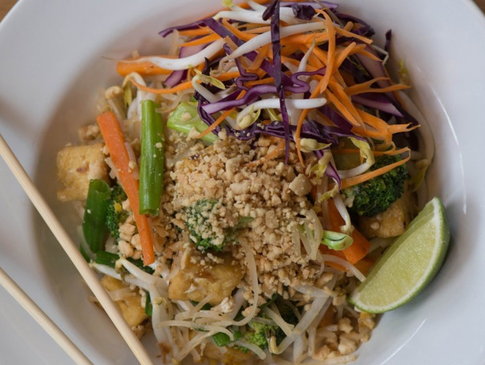 Asian-Inspired Vegetarian Cuisine Portland Maine United States