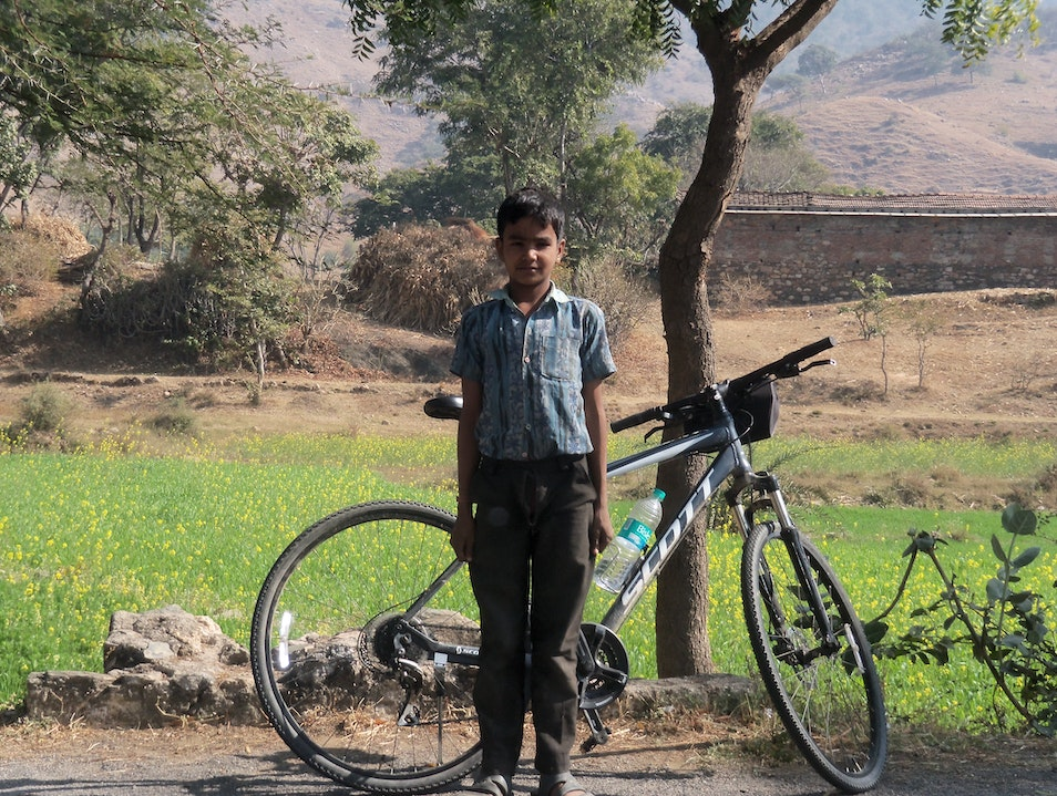Cycling in Rajasthan