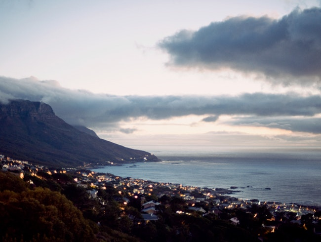Summer evenings in Camps Bay, Cape Town