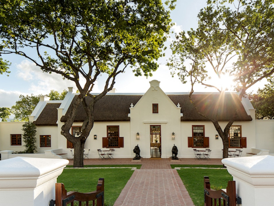 The Doors Are Open at Cape Town's Leeu House Franschhoek  South Africa