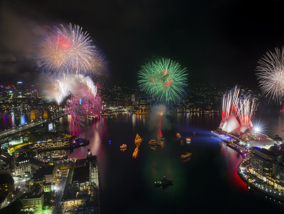 New Year's at Sydney Harbour  Sydney  Australia