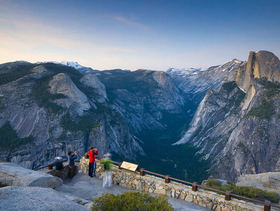 Glacier Point Yosemite Village California United States