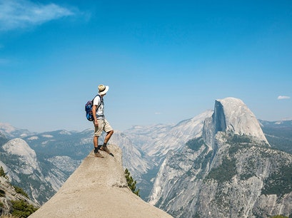 Glacier Point Yosemite Valley California United States