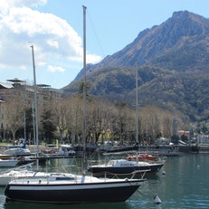 Shore of Lake Lecco