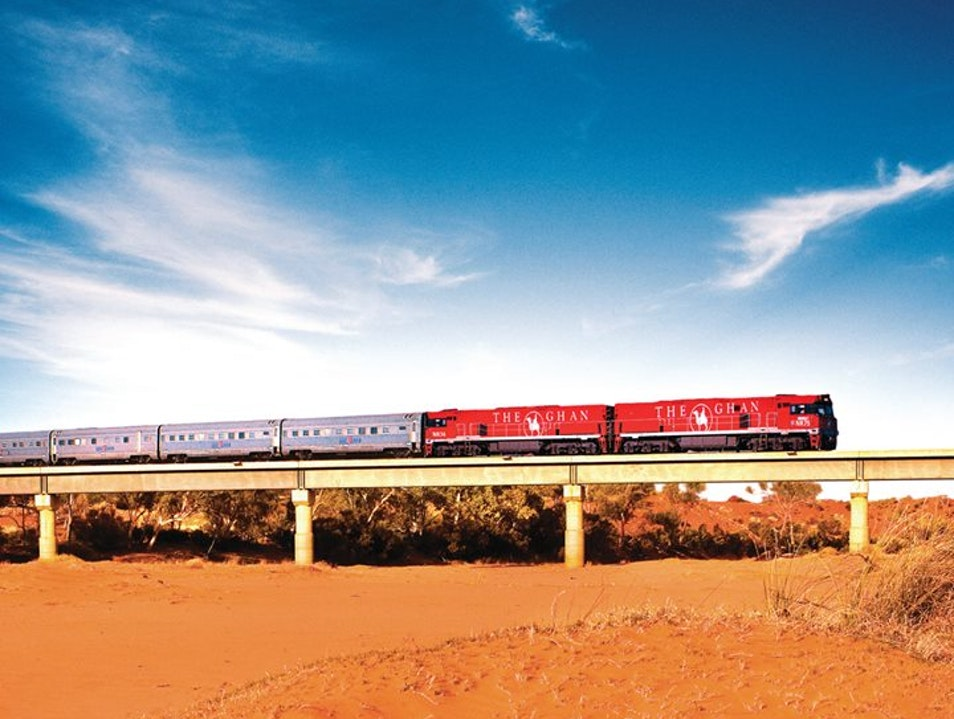 The Ghan, Great Southern Rail  Keswick  Australia