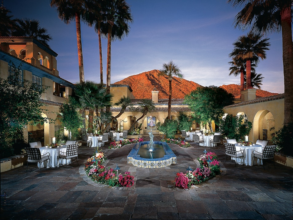 Romance Fit for a Queen at Royal Palms Phoenix Arizona United States