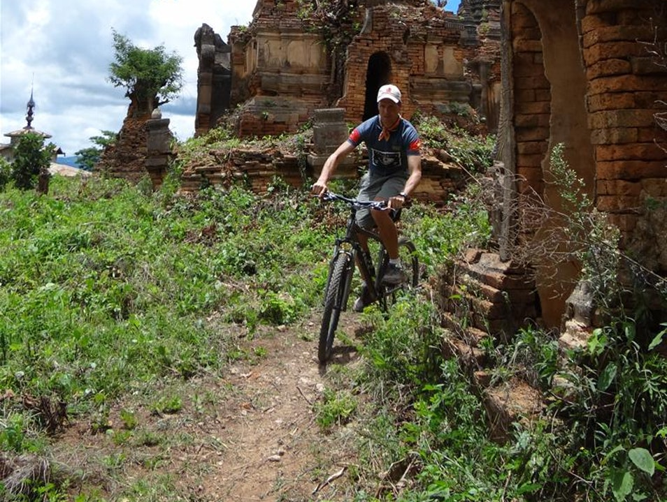 Mountain Biking Inle Lake, Myanmar Nyaung Shwe  Myanmar