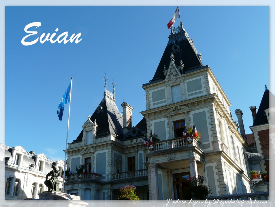 Evian - top place to visit near Lyon