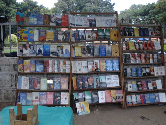 Book hunting in Koti