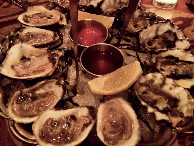 Oysters on the cheap at RM Champagne Salon