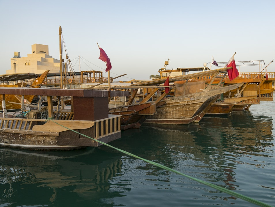 Sunset Cruise on a Dhow Doha  Qatar