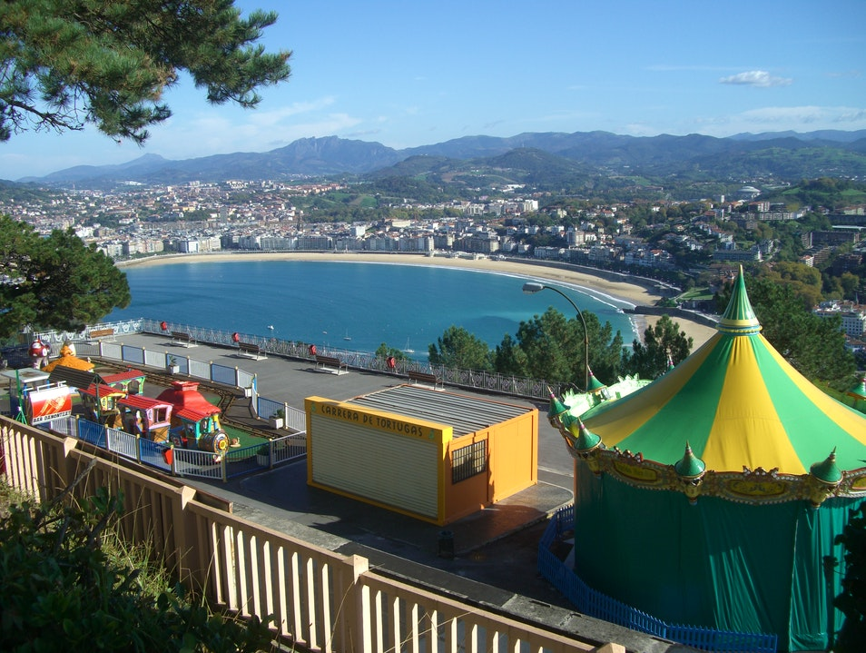 The Mountaintop Amusement Park San Sebastian  Spain