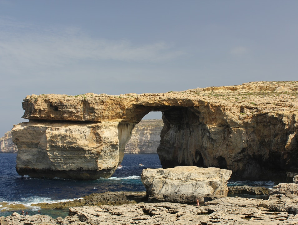Gozo, a beautiful Island north of Malta San Katald  Malta