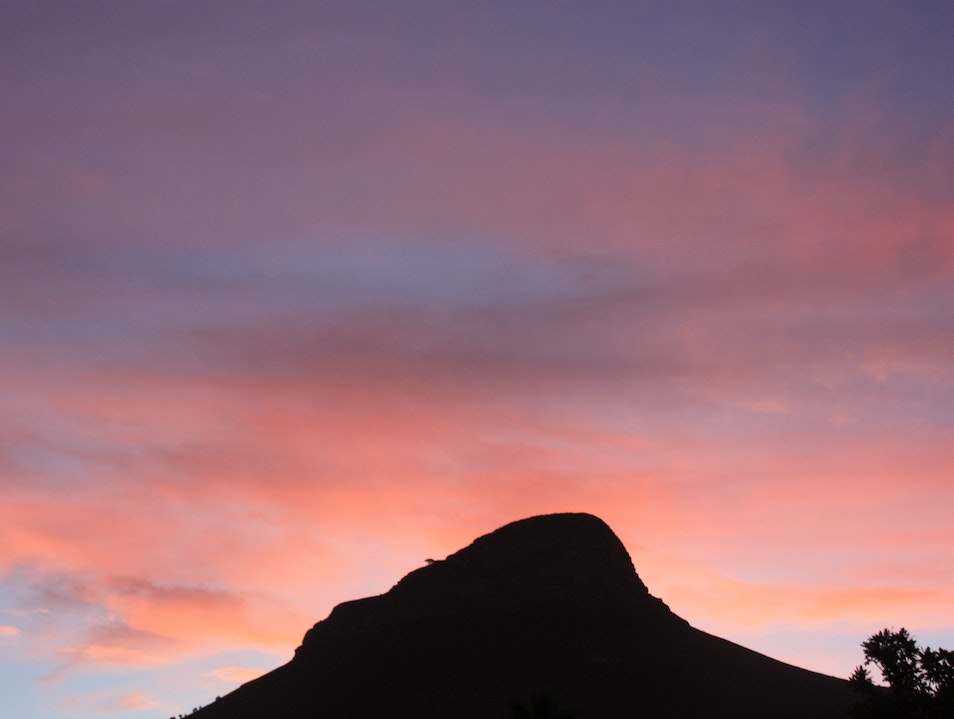 Climb Lion's Head in the moonlight Cape Town  South Africa