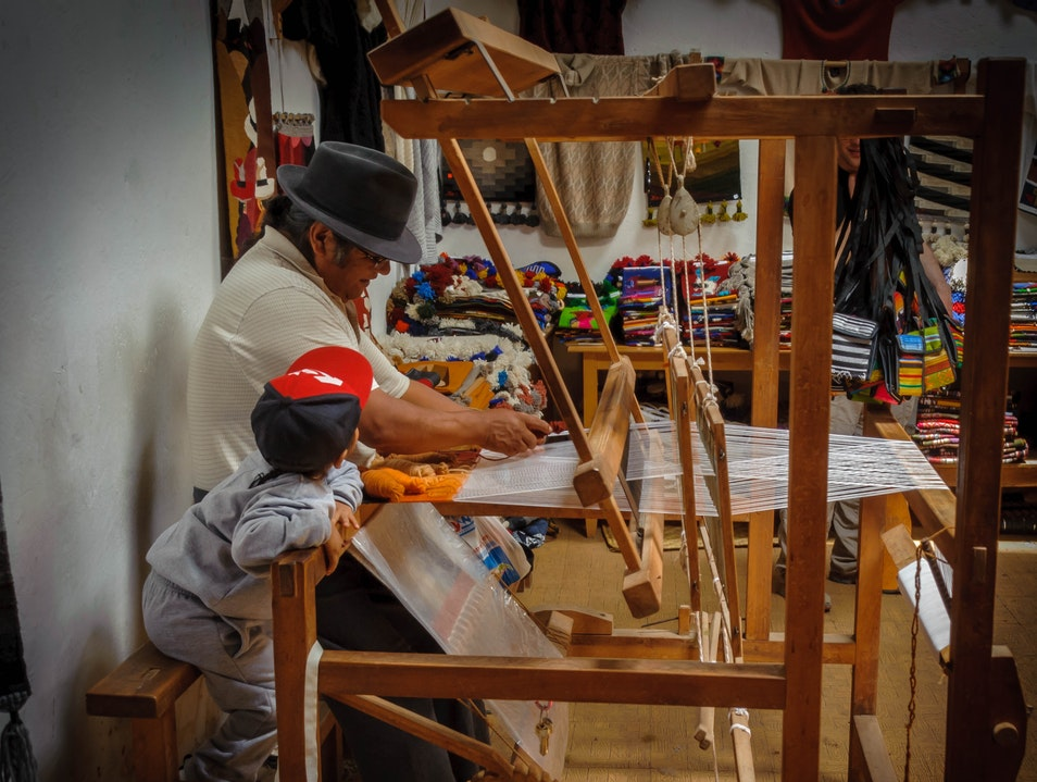 Witness the Weaving Masters at Work Otavalo  Ecuador