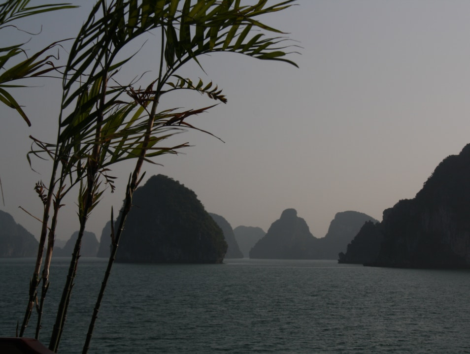 View of Ha Long Bay Việt Hải  Vietnam