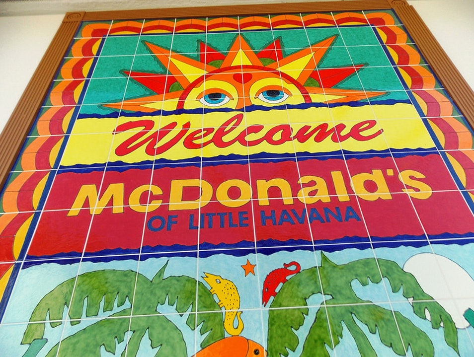 The coolest looking McD's