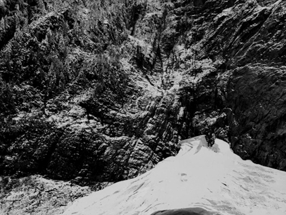 Hike to the Ice Caves Granite Falls Washington United States