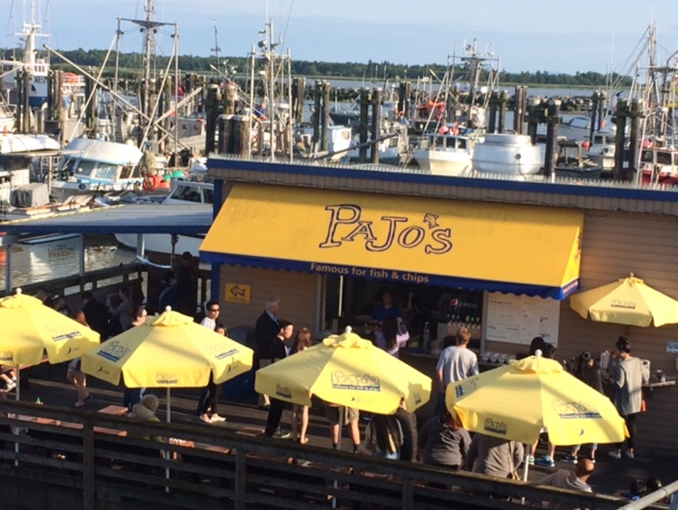 Pajos: Enjoy dockside fish & chips in charming Steveston Richmond  Canada