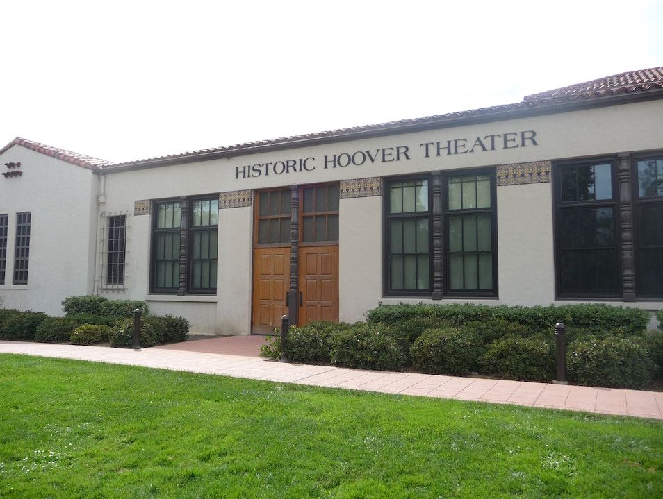 The Historic Hoover Theater San Jose California United States