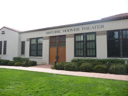 Historic Hoover Theatre San Jose California United States