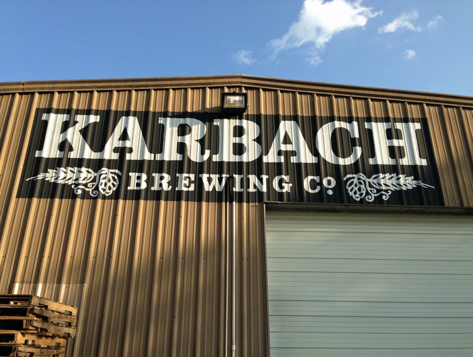Tour Karbach Brewing Co. Houston Texas United States
