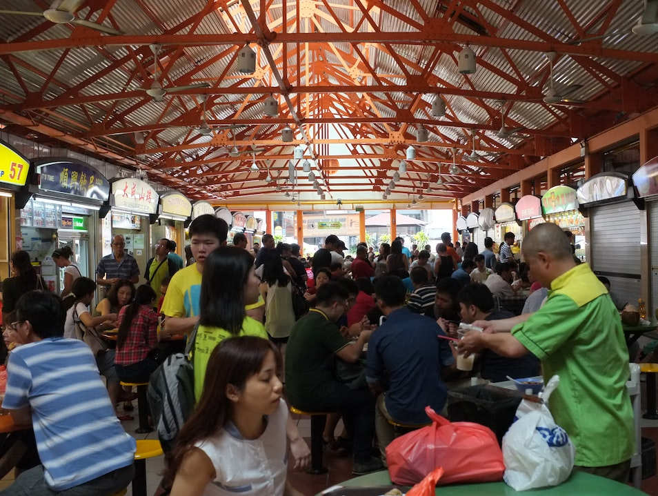 try some of singapore's best at maxwell food centre. Singapore  Singapore