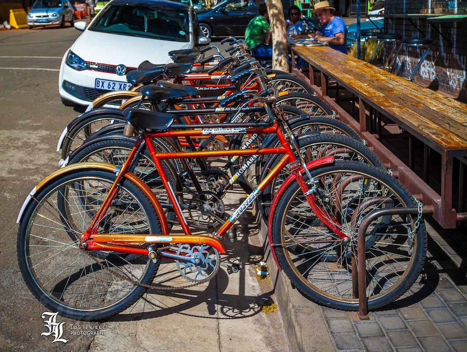 Explore Maboneng on a Bike Johannesburg  South Africa