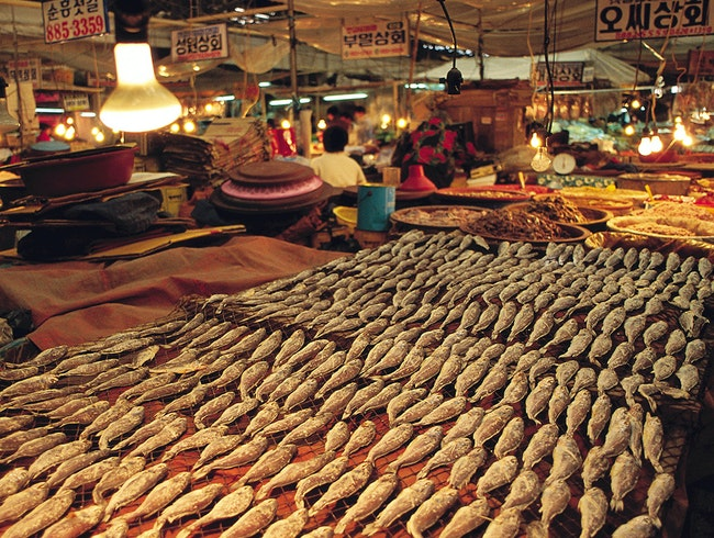 Incheon Complex Fish Market