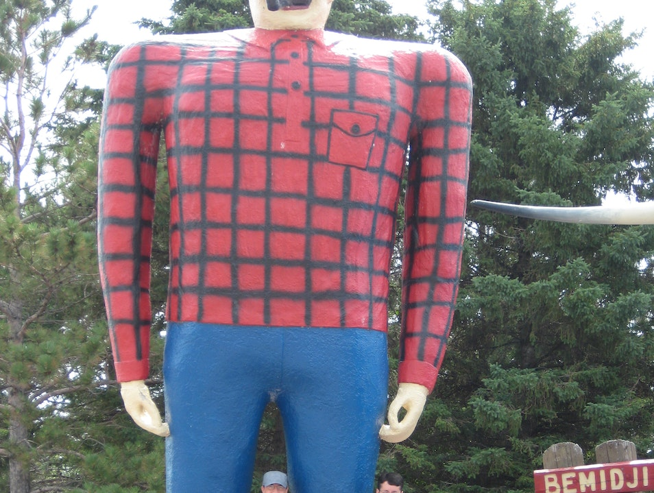 Meet Paul Bunyan Bemidji Minnesota United States