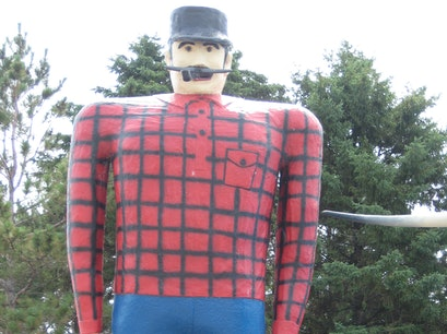 Paul Bunyan & Babe the Blue Ox Bemidji Minnesota United States