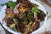 Fried Brussels Sprouts wirh Chile Vinaigrette