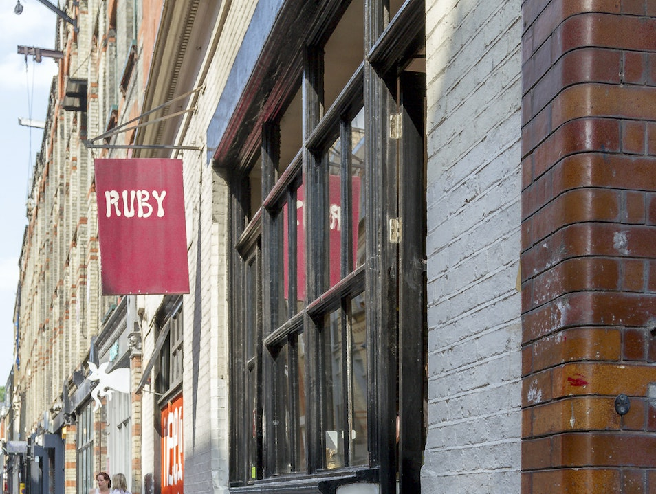The Precious Ruby of Shoreditch London  United Kingdom
