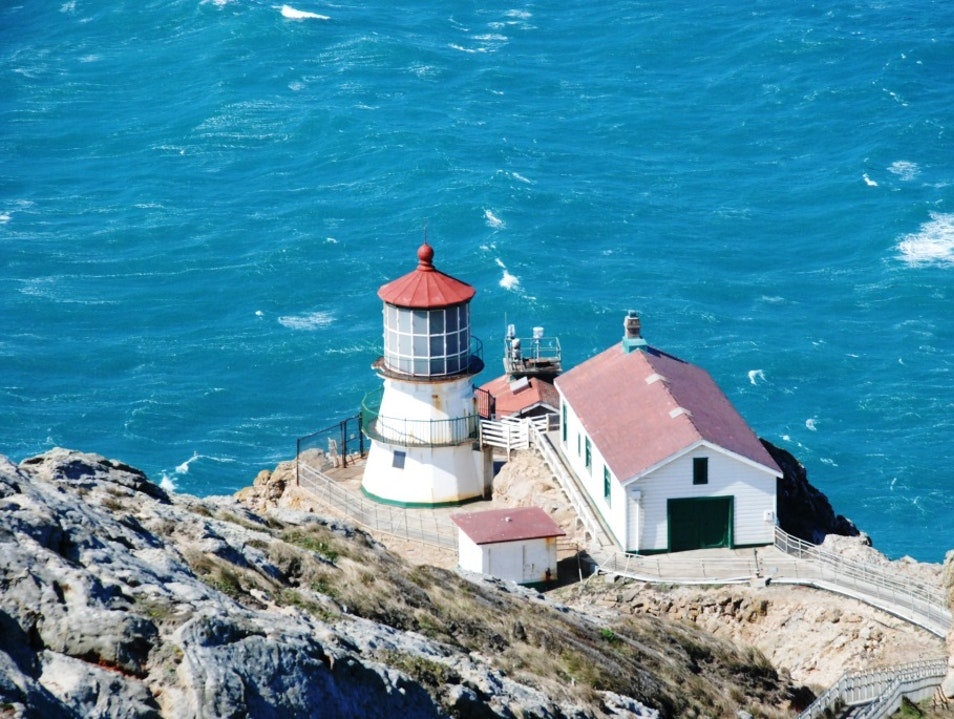 Getting Blown Away at Point Reyes Lighthouse Inverness California United States