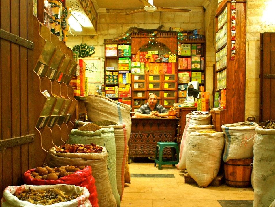 Stop and Smell the Spices Cairo  Egypt