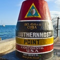 Southernmost Point Buoy Key West Florida United States