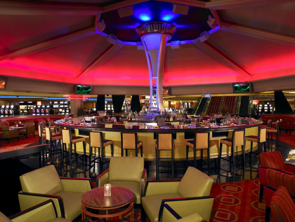 Drinking from the Stratosphere in Las Vegas Las Vegas Nevada United States