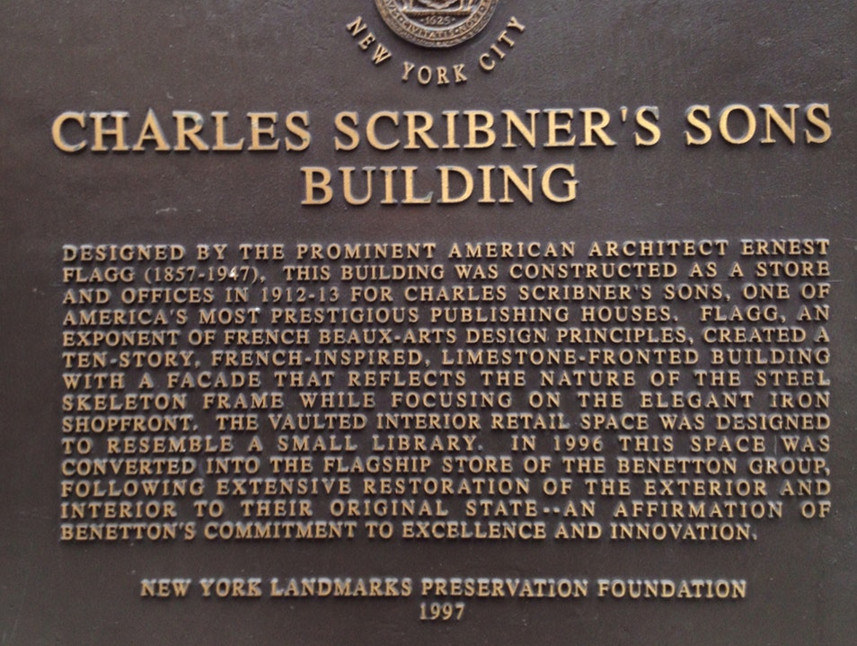 Scribner & Sons NYC New York New York United States