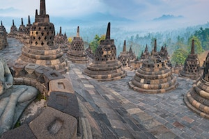 Borobudur, Java, Indonesia