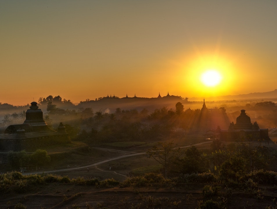 Crumbling Empire of the Decaying Sun Mrauk-U  Myanmar