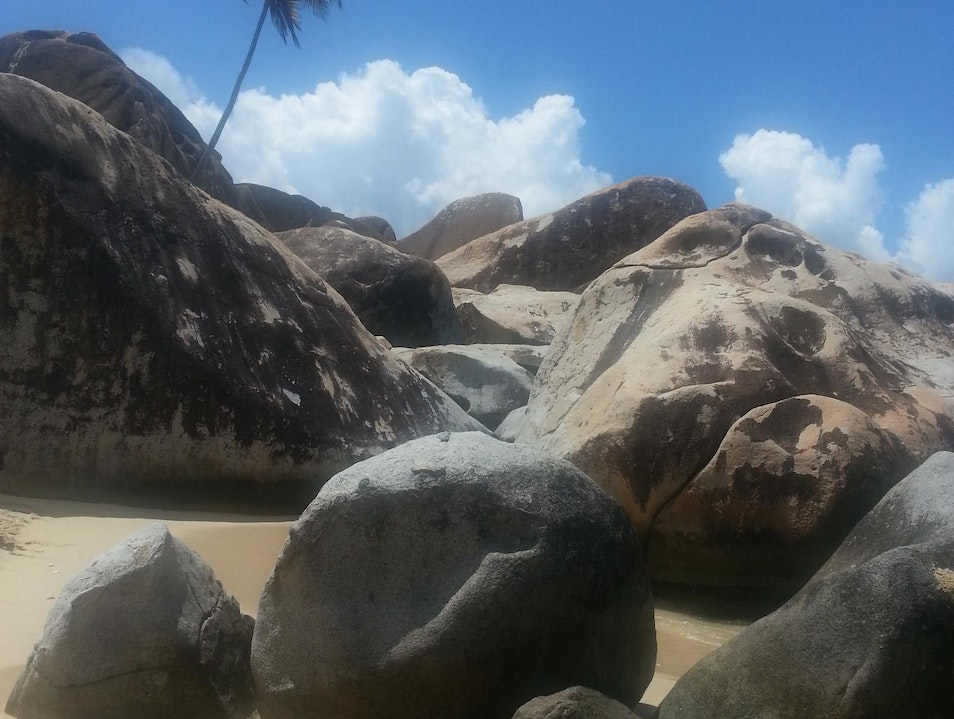Beautiful  Virgin Gorda Spanish Town  British Virgin Islands