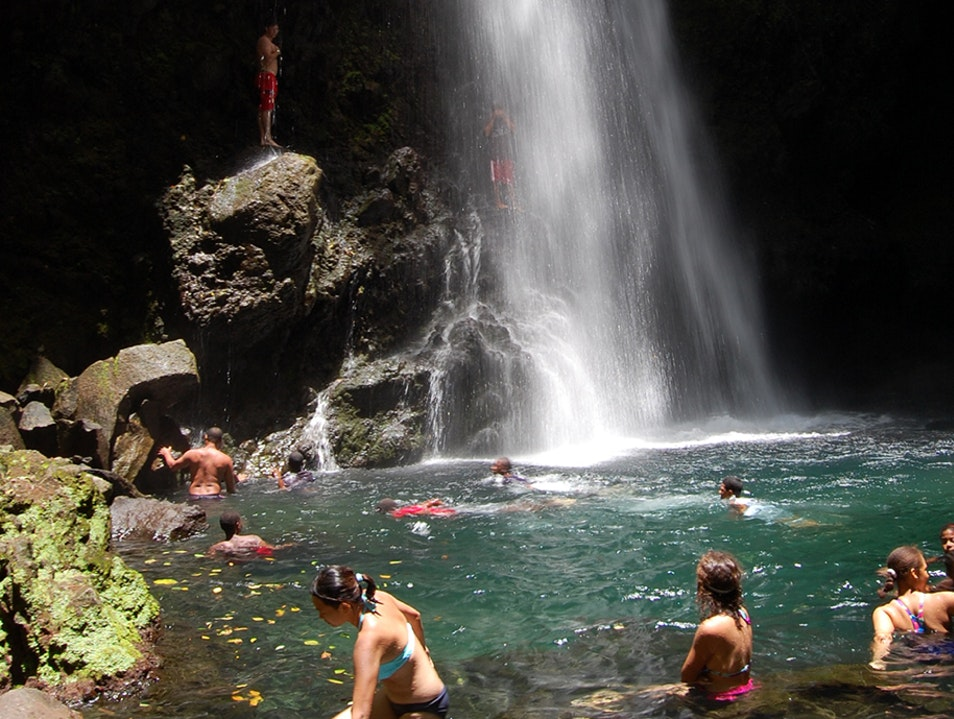 Chase a Waterfall   Saint Vincent and the Grenadines