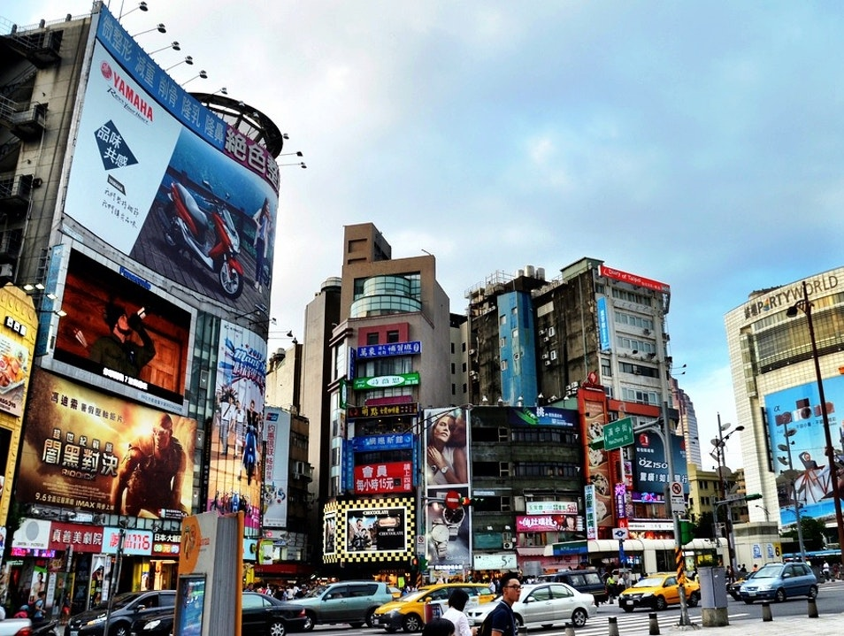 See It All in Taipei's Version of Times Square  Wanhua District  Taiwan