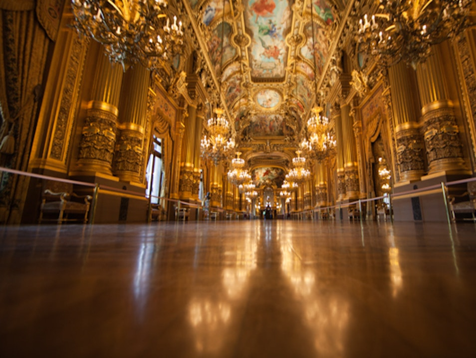 The Gorgeous Paris Opera House Paris  France