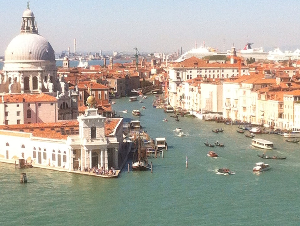 Approaching Venice Venice  Italy