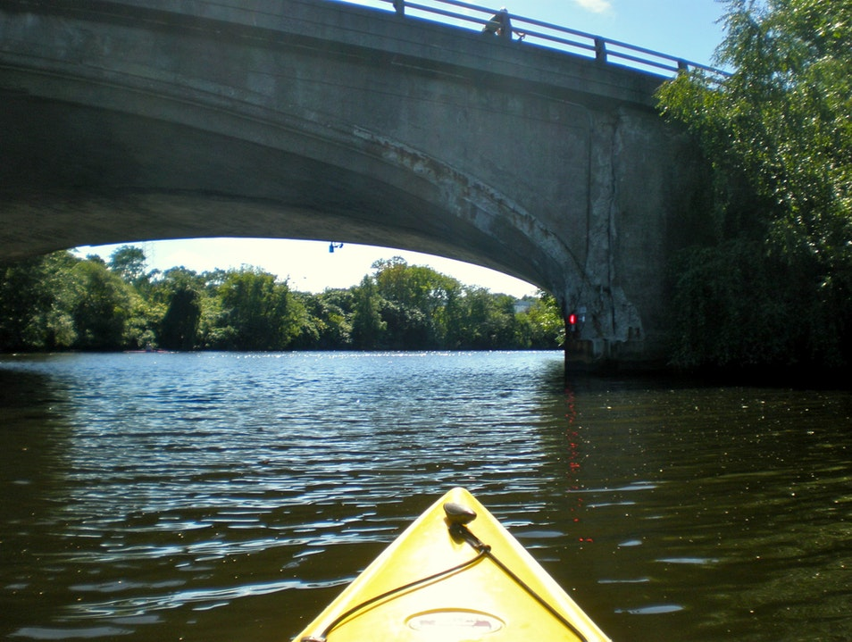 Kayaking the Charles Boston Massachusetts United States