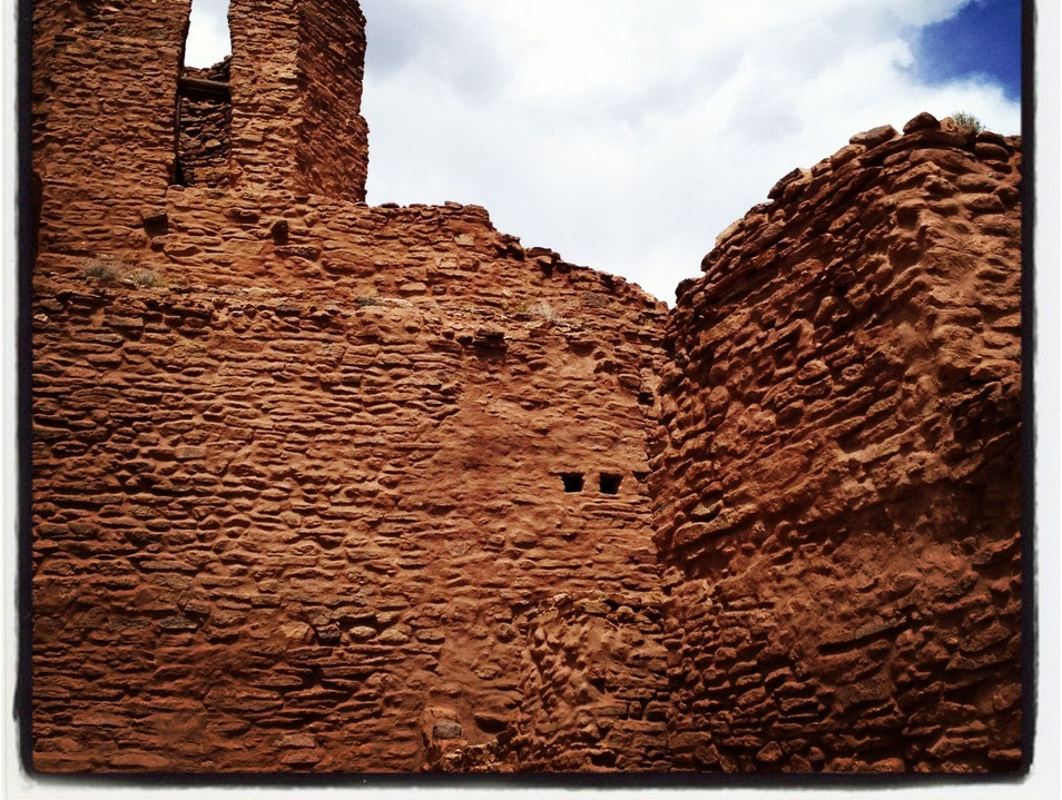 Visit the Ruins of a Mission Church Jemez Springs New Mexico United States