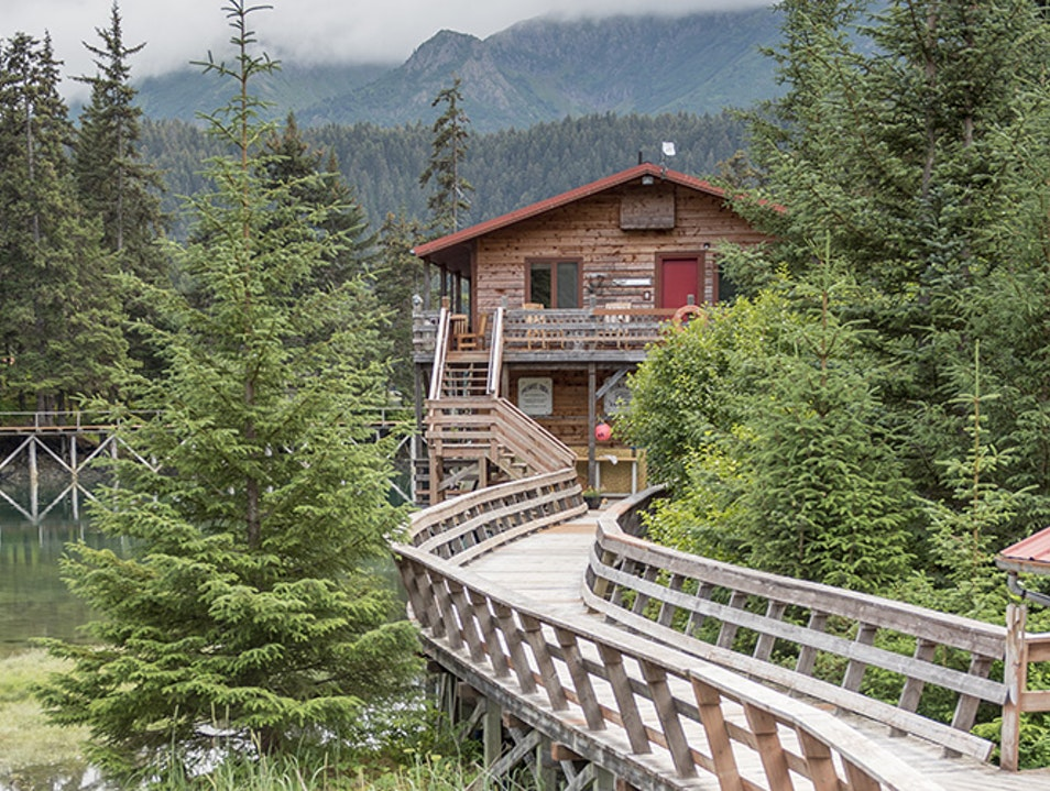 Tutka Bay Lodge Seldovia Alaska United States