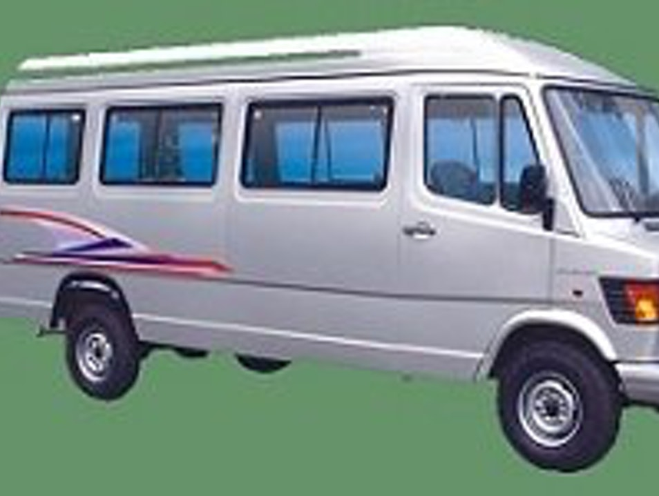 Tempo Traveller hire in Mumbai on rent rs 14 per k.m.
